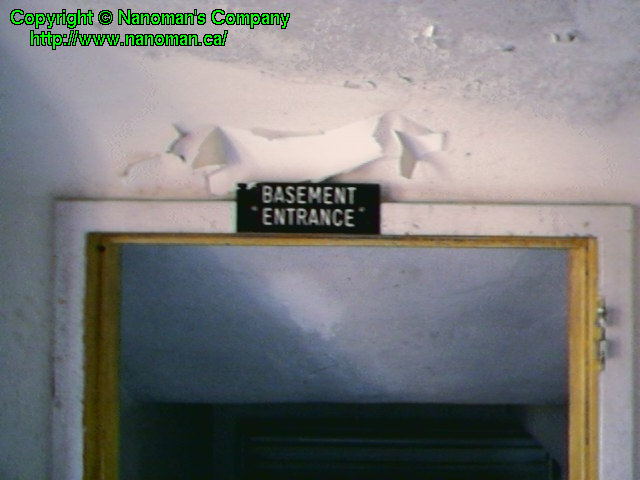 """Basement Entrance"""